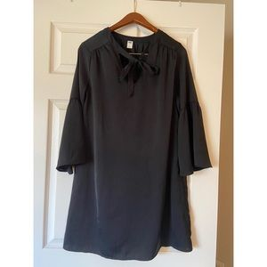 Black Bell- Sleeved Old Navy Dress